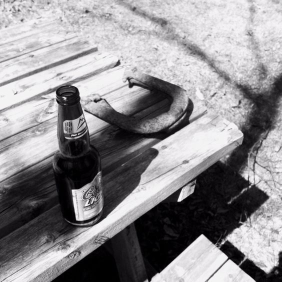 Beer and horseshoes