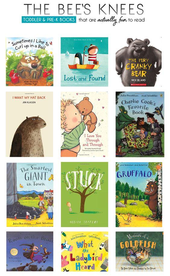 Great toddler Pre-K books