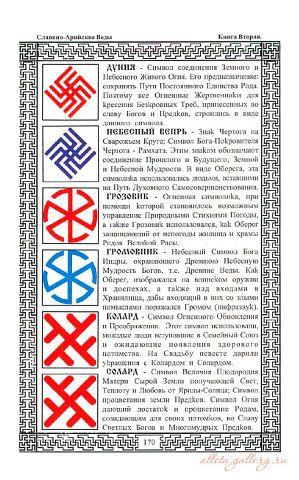 Символы русской вышивки значения