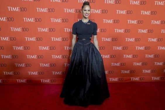 Dancer Misty Copeland arrives for the TIME 100 Gala in New York | View photo - Yahoo News Philippines