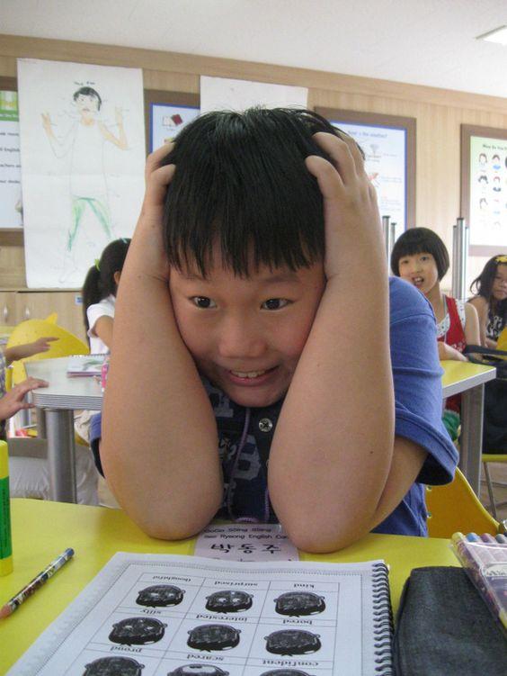 Trẻ em ở Hàn Quốc được khuyến khích học tập