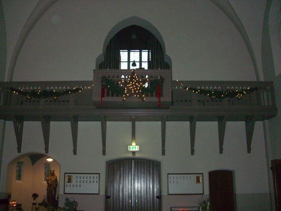 St. Antonius Abt kerk,, Eindhoven. Kerst 2014