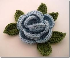 HOW TO SEW CROCHETTED FLOWERS AND LEAVES