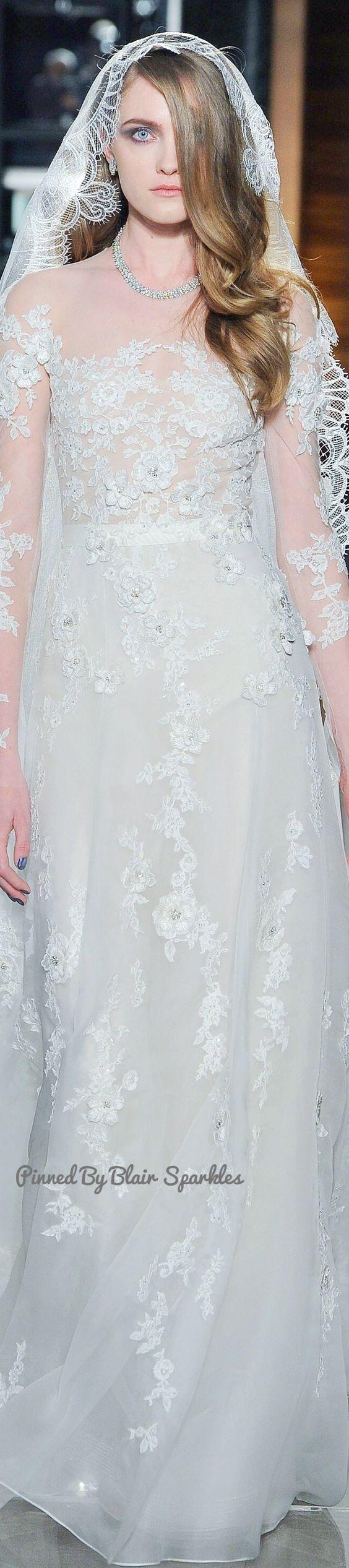 Reem acra bridal spring εїз blair sparkles the gown