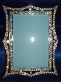 simply stunning crystal rhinestone picture frame 4 x 6