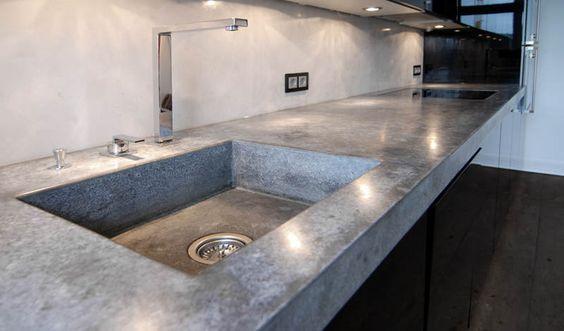 Beton Cire für Wände, Böden, Treppen, Arbeitsplatten Nice - k chenarbeitsplatten aus beton