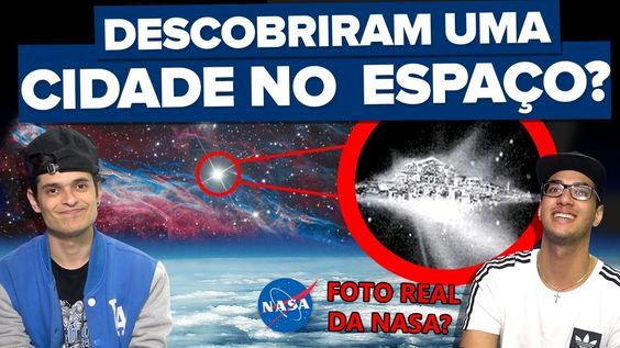 TELESCÓPIO DA NASA MOSTRA CIDADE CELESTIAL VINDO EM DIREÇÃO DA TERRA??