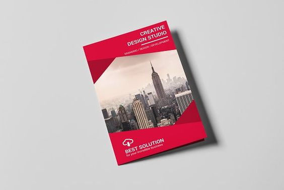 Corporate Brochure by MrTemplater on @creativemarket free brochure - brochure templates in word