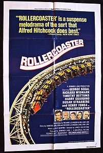 Cool Game Room decoration! Rollercoaster 1977 Original Movie Poster - http://buff.ly/TXDpBm    #BMovie #1970s #PopCulture