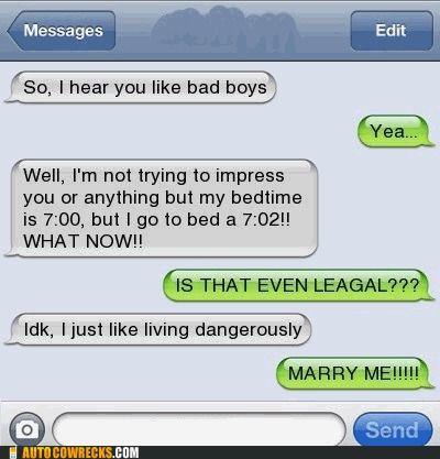 flirt text fails buzzle