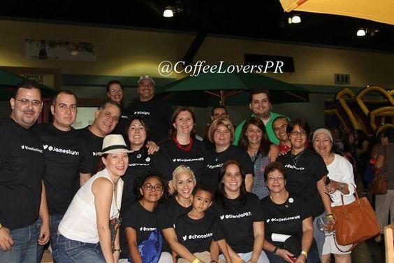 Las nenas y los nenes en el Coffee and Chocolate Expo 2013