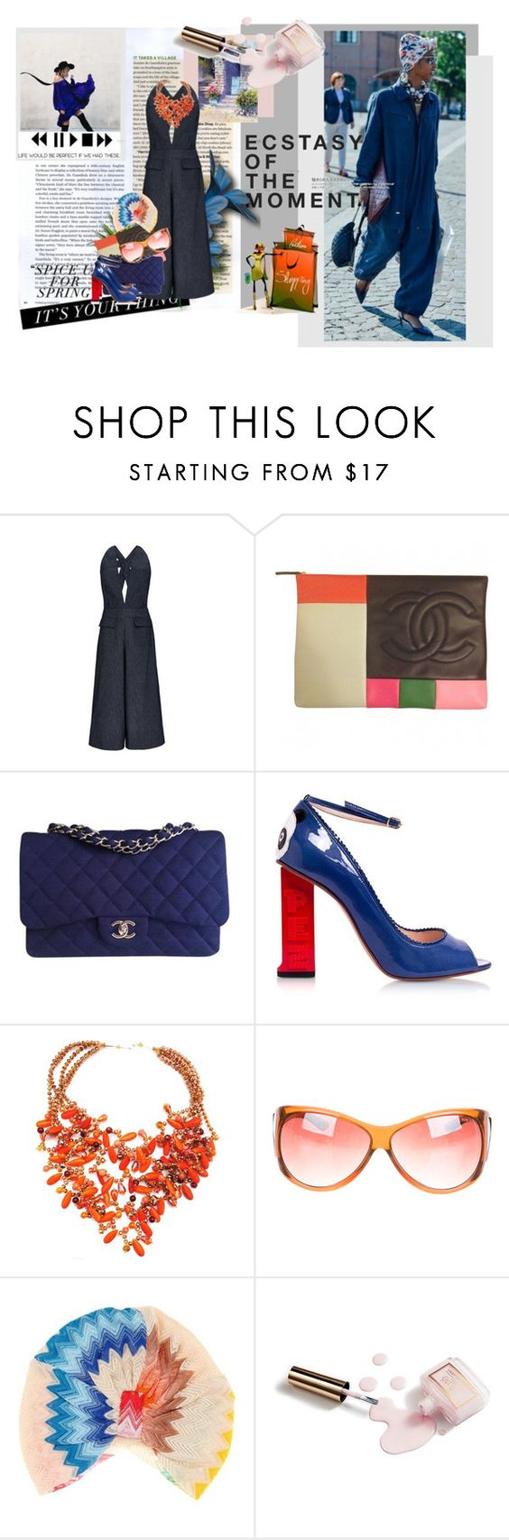 """""""Ecstasy of the moment"""" by wodecai ❤ liked on Polyvore featuring Anja, Cushnie Et Ochs, Chanel, Camilla Elphick, Tom Ford, Missoni Mare, Ciaté and modern"""
