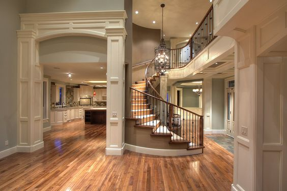 those stairs, and the archway