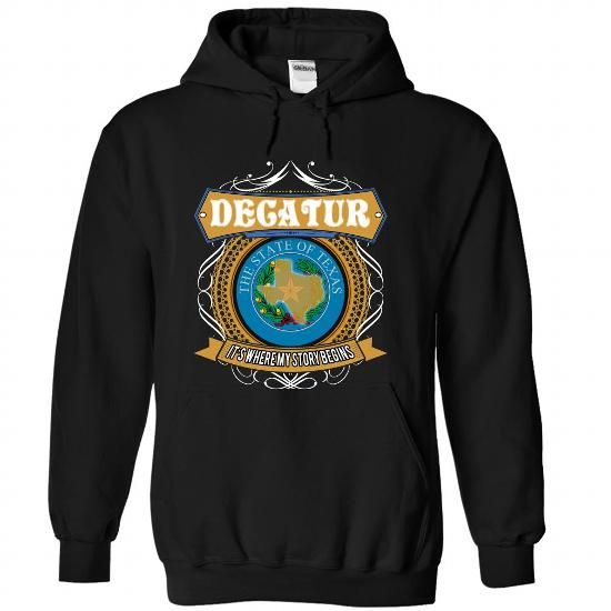 (Texas251-400) DECATUR Its Where My Story Begins - #gift for girls #gift packaging. WANT => https://www.sunfrog.com/States/Texas251-400-DECATUR-Its-Where-My-Story-Begins-qdteoiswwp-Black-44720290-Hoodie.html?68278
