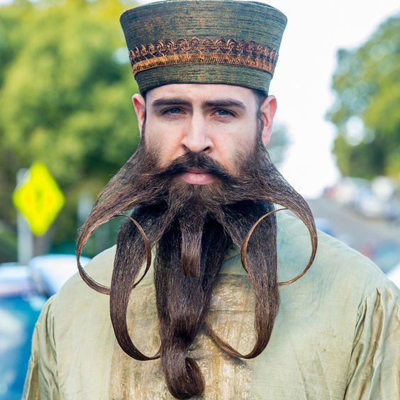 Estilos de barba creativos, г-н г-н Incredibeard - Cultura Inquieta