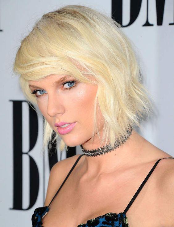 la coloration blond platine de taylor swift - Coloration Blond Platine