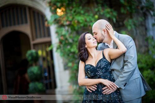 Skylands Manor Northern New Jersey Engagement Photography by Visual Masters