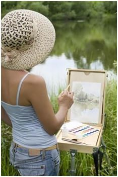 teach yourself how to paint with watercolors choose from
