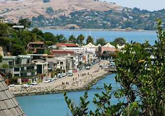 Just over the Golden Gate Bridge is a little slice of heaven -Sausalito, California