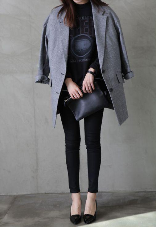 Jacket black womenstyle