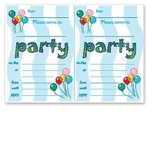 Birthday Invitation Templates Free | Birthday Party Invitation ...