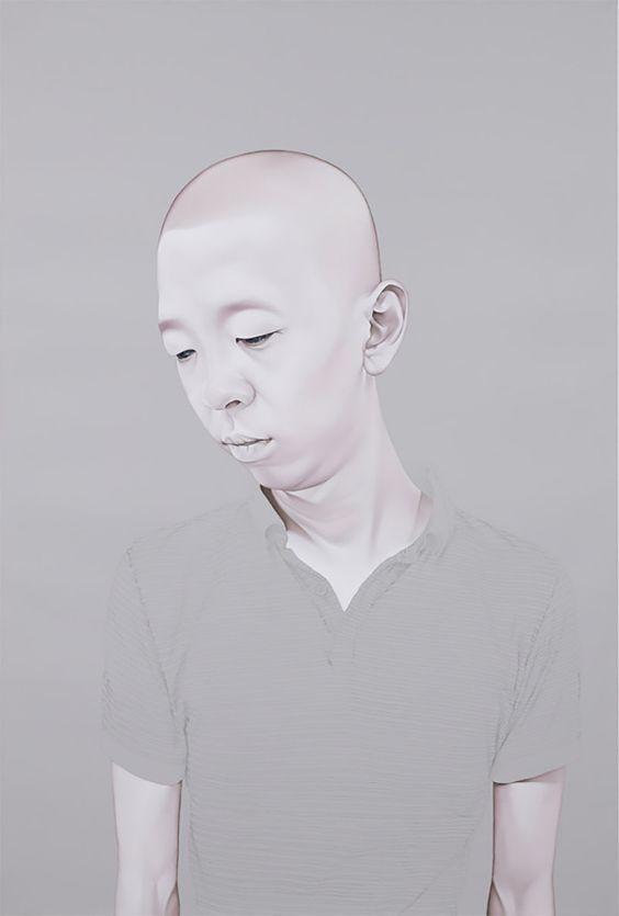 Melancholic Portraits by Sungsoo Kim