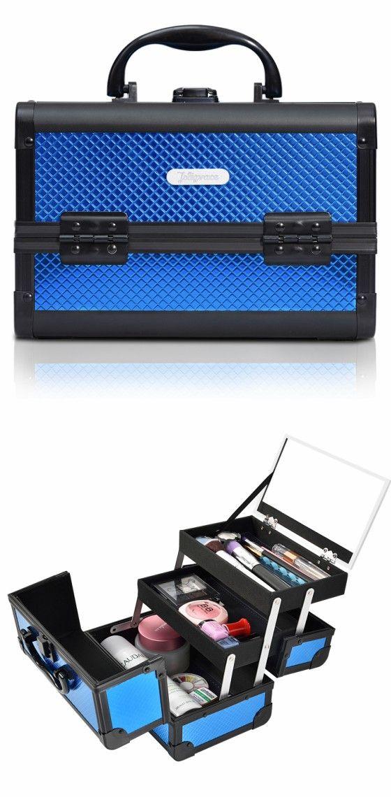 Pin Em Makeup Organization Ideas Bag Case Vanity