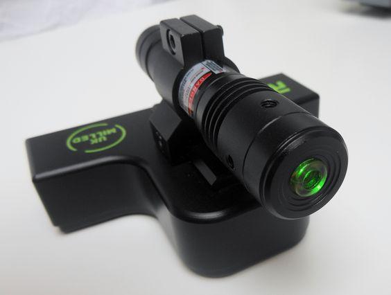 Green Laser & Mount Block