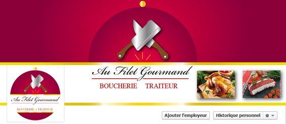 Bannière Facebook Au Filet Gourmand