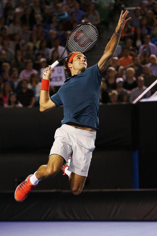 Roger Federer  Australian Open 2014. Roger and Friends. Perfection.