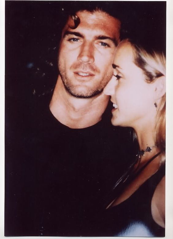 Joe Lando And Girlfriend Kirsten Barlow On A Night Out