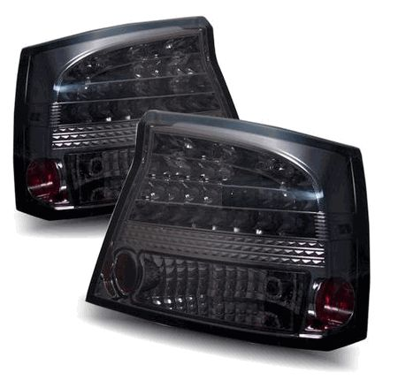 Dodge Charger 05-08 LED Euro Altezza Tail Lights - Smoke