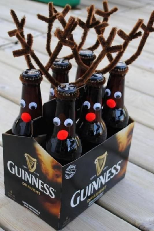 Deer beer and other creative christmas ideas!