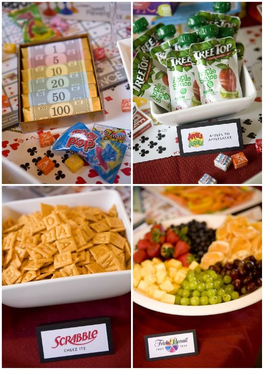 Game Night Food Ideas With Images Family Game Night Party