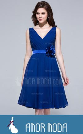 Bridesmaid Dress With Ruffle Flower(s)  at an affordable price of $103.99 #woman
