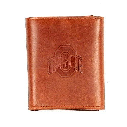 Ohio State University  - Brown Leather Wallets
