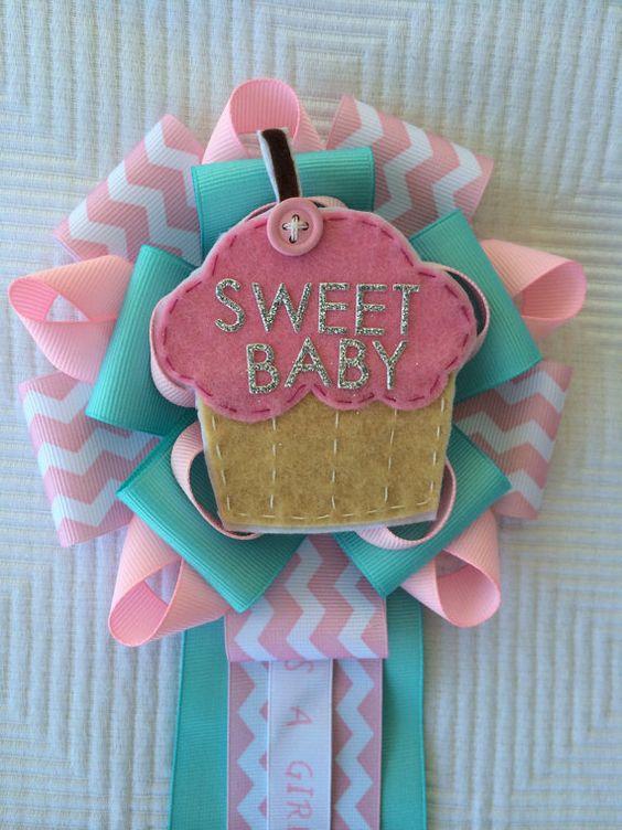 Ideas Adornos Baby Shower.26 New Baby Shower Corsage Girl Baby Shower