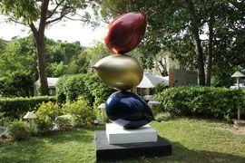 Philippe Berry -3 Ballons - sculpture en résine de 3 ou 2 mètres. Galerie d'art…