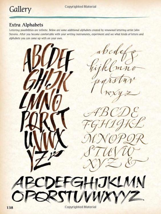 Art of Calligraphy & Lettering (Collector's Series): Amazon.de: Arthur Newhall, Cari Ferraro, Eugene Metcalf, John Stevens: Fremdsprachige Bücher