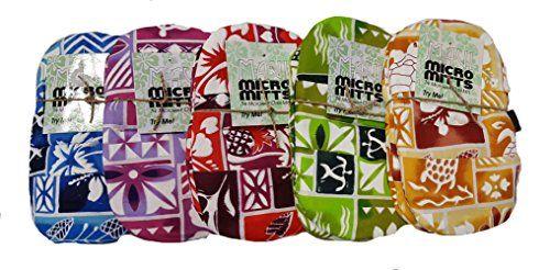 Akamai 5 Sets Of 2 Maui Micro Mitts Microwave Potholder Mitten