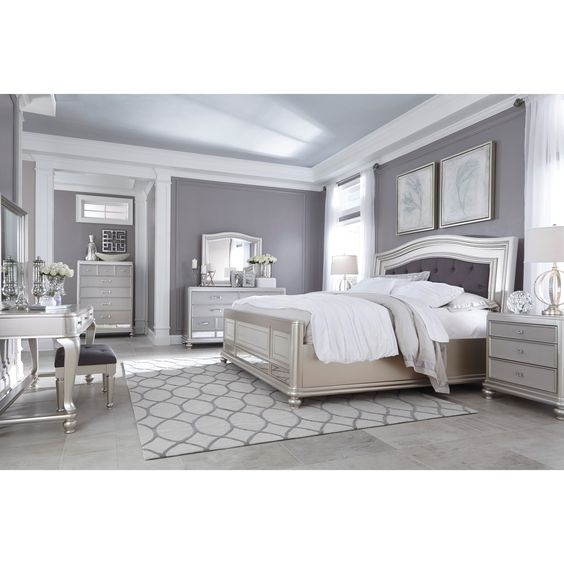 Coralayne King Bedroom Group By Signature Design By Ashley