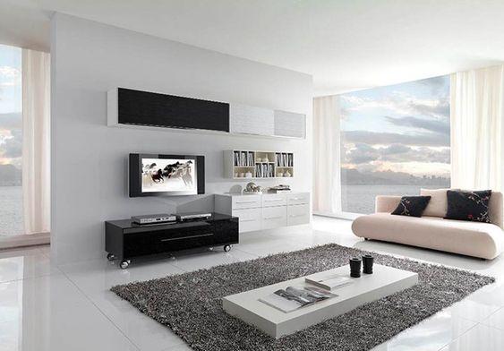 30 Salas minimalistas