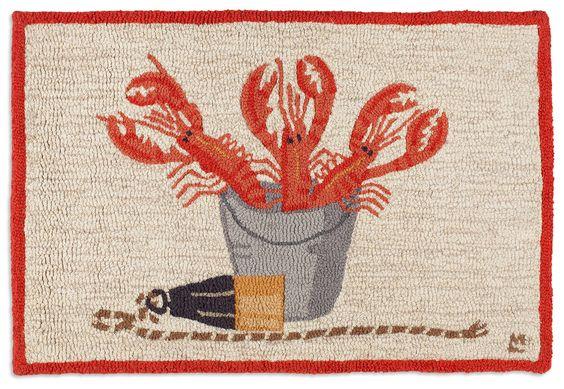 Lobster Catch 2'x3' Rug - Chandler 4 Corners