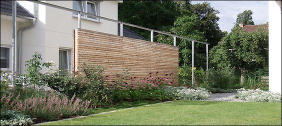 Sichtschutzelemente Aus Douglasie : Stuttgart, Wände and Gärten on ...
