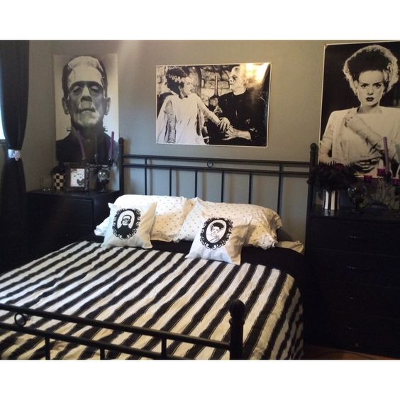 Frankenstein bedroom.