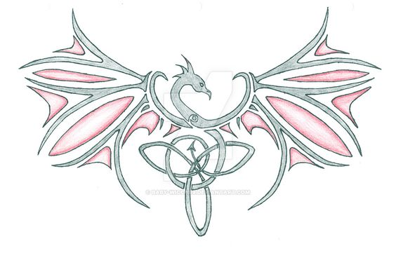 dragon tattoo by baby-wicca89.deviantart.com on @DeviantArt