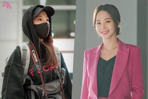"""Park Min Young Represents Her Double Life Through Contrasting Fashion Styles In """"Her Private Life"""""""