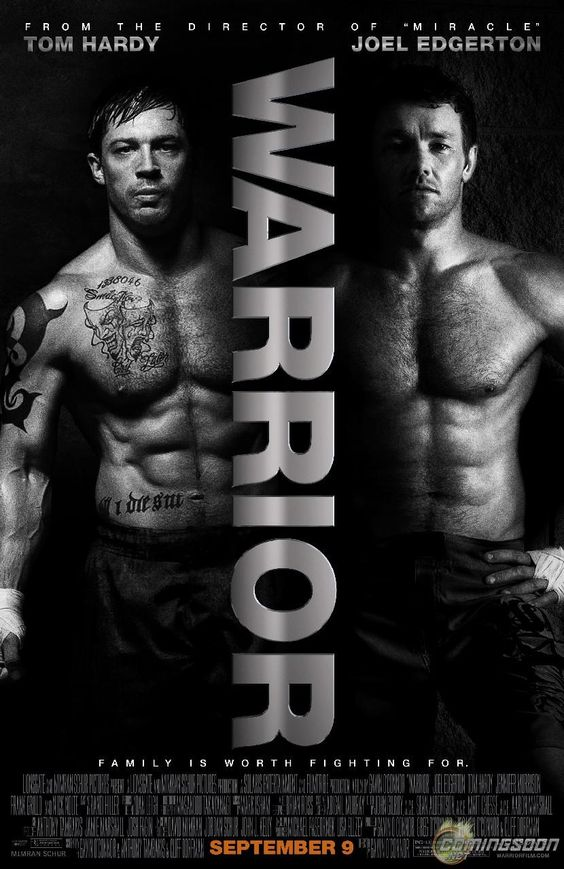 Warrior - Tom Hardy was fantastic, The story was compelling, and there were so many memorable and powerful scenes. Nick Nolte deserved that Oscar last year. Not to mention every fight scene was more intense than any in The Fighter.
