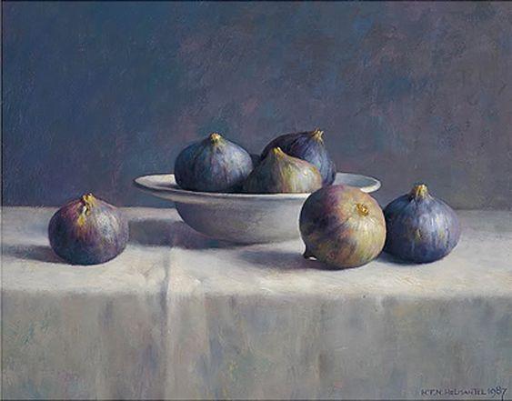 Pintura de Henk Helmantel (b. 1945)
