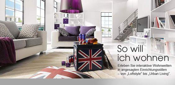 Eckbank Modern Bei Otto : Modern Loftstyle bei OTTO  For the Home  Pinterest  Modern